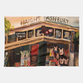 Haight Ashbury in San Francisco Tea Towel