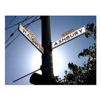 Haight & Ashbury Postcard