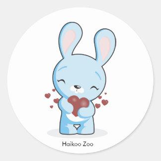 Haikoo Zoo Bunny Stickers