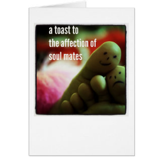 Haiku Card - A Toast To Soul Mates