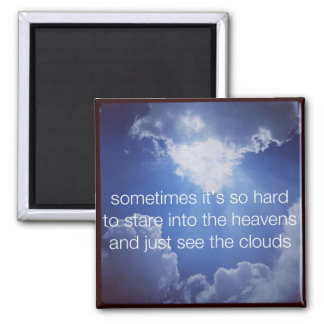 haiku Fridge Magnet - Sometime It's So Hard