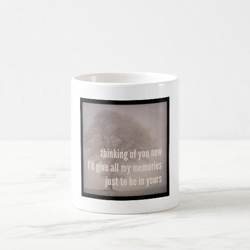 Haiku Fridge Mug - Thinking Of You Now