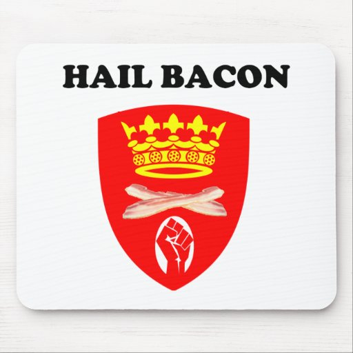 Hail Bacon Mousepads