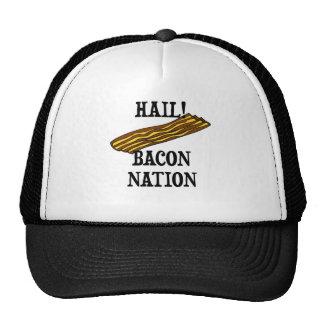 Hail Bacon Nation Mesh Hats