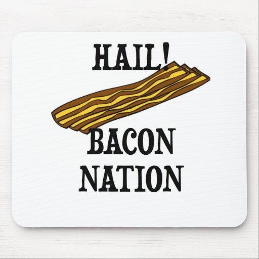 Hail Bacon Nation Mousepads