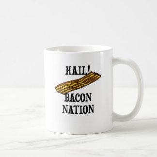 Hail Bacon Nation Coffee Mugs
