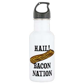 Hail Bacon Nation 532 Ml Water Bottle