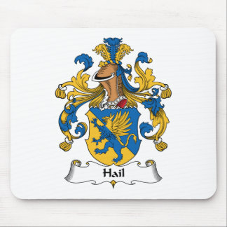 Hail Family Crest Mouse Pad