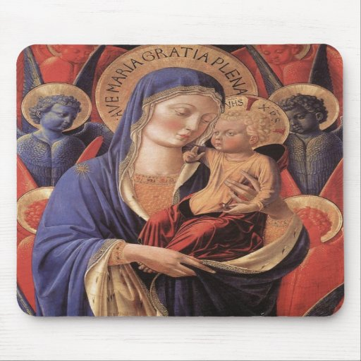 HAIL MARY FULL OF GRACE MOUSE PAD