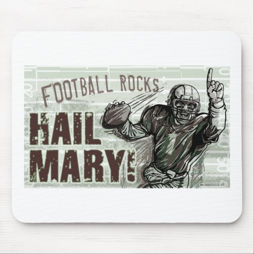 Hail Mary! Mousepad