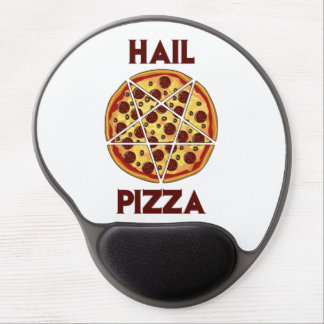 Hail Pizza Gel Mouse Pad