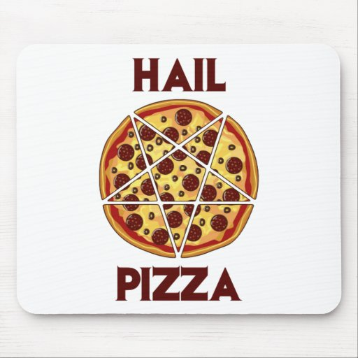 Hail Pizza Mouse Pads