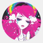 hail rainbow- sticker