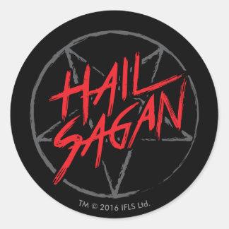 Hail Sagan Round Sticker