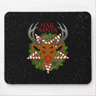 Hail Santa Mousepads