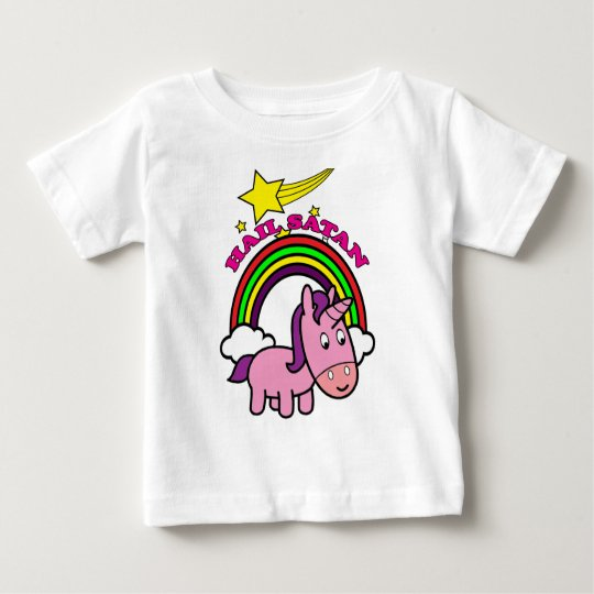 Hail Satan - Cute Baby T-Shirt