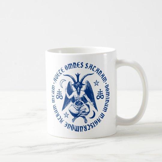 Hail Satan Goat Of Mendes Baphomet Satanic Coffee