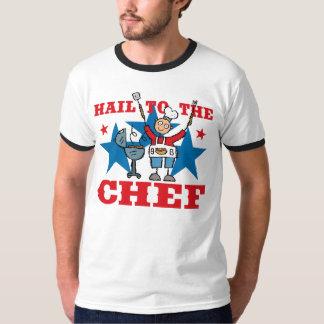 Hail To The BBQ Chef T-Shirt