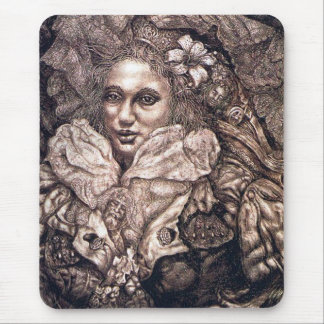 Hail to the Pure (Portrait of Chigi Piedra) Mouse Pad