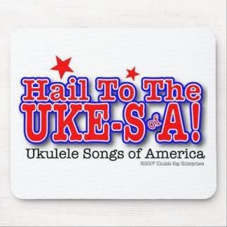 Hail to the UKE-SofA Mousepad