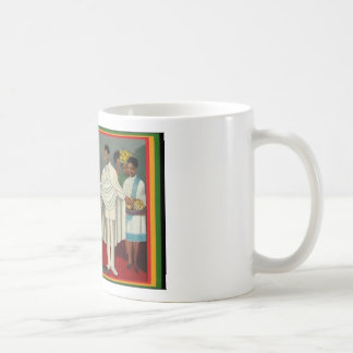 haile selassie coffee mug