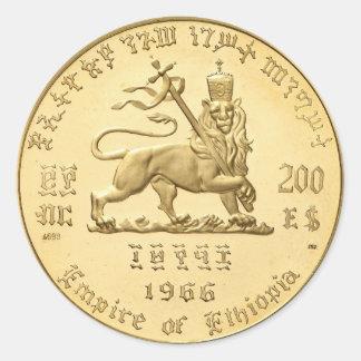 Haile Selassie Empire OF Ethiopia Rasta Sticker