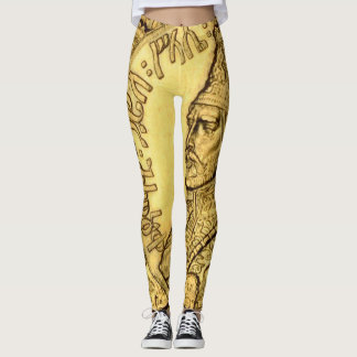 Haile Selassie Leggings King Judah Design