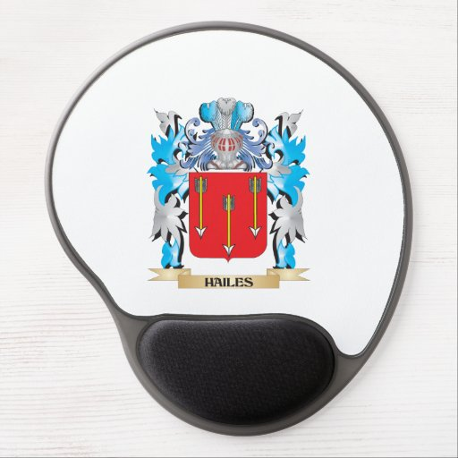 Hailes Coat of Arms - Family Crest Gel Mouse Pad