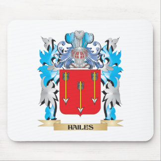 Hailes Coat of Arms - Family Crest Mouse Pad