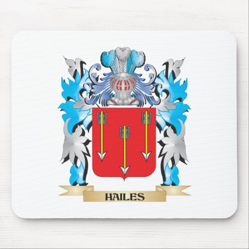 Hailes Coat of Arms - Family Crest Mousepads