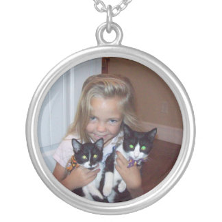 Hailey & Cat Silver Plated Necklace