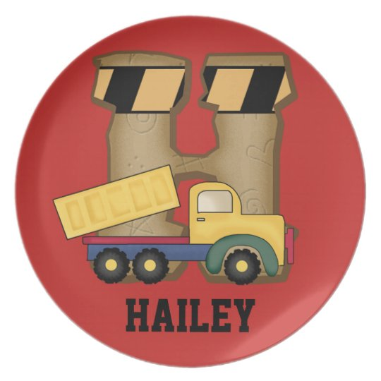 Hailey's Personalised Gifts Plate