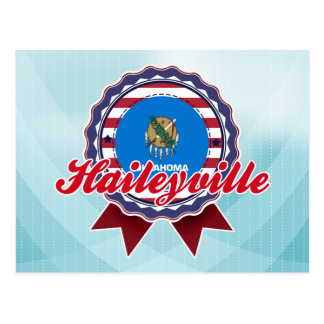 Haileyville, OK Postcard