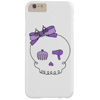 Hair Accessory Skull (Bow Detail Purple) Barely There iPhone 6 Plus Case