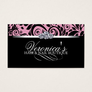 Hair and Nail Salon Business Cards