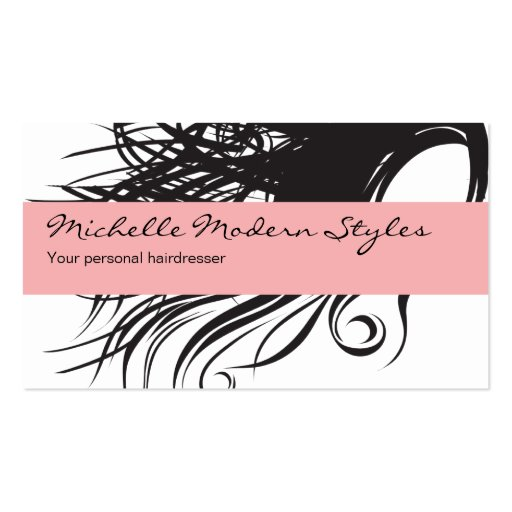 Hair beauty business cards zazzle for Hair and makeup business cards