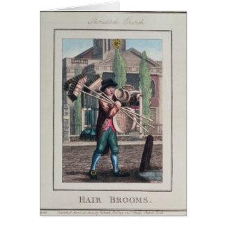Hair Brooms, Shoreditch Church Card