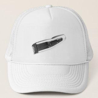 Hair clipper trucker hat