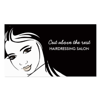 Hair Cuts Salon Double-Sided Standard Business Cards (Pack Of 100)