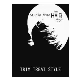 Hair Design 1 - Flyer, Prices 21.5 Cm X 28 Cm Flyer