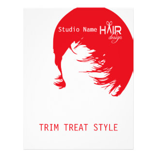 Hair Design 1 - Flyer, Pricing 21.5 Cm X 28 Cm Flyer