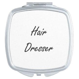 Hair Dresser Artistic Job Design Makeup Mirror