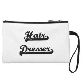 Hair Dresser Classic Job Design Wristlet Clutch