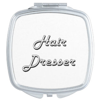 Hair Dresser Classic Job Design Vanity Mirrors