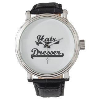 Hair Dresser Classic Job Design Wrist Watch