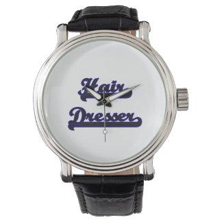 Hair Dresser Classic Job Design Wristwatches