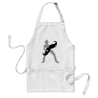 Hair Guitar Standard Apron