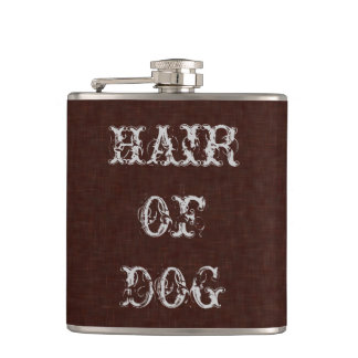 Hair Of Dog Funny Halloween Party Props Flasks