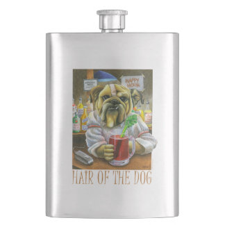 Hair of the Dog (Hangover Help) Hip Flask