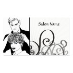 Hair Salon Double-Sided Standard Business Cards (Pack Of 100)